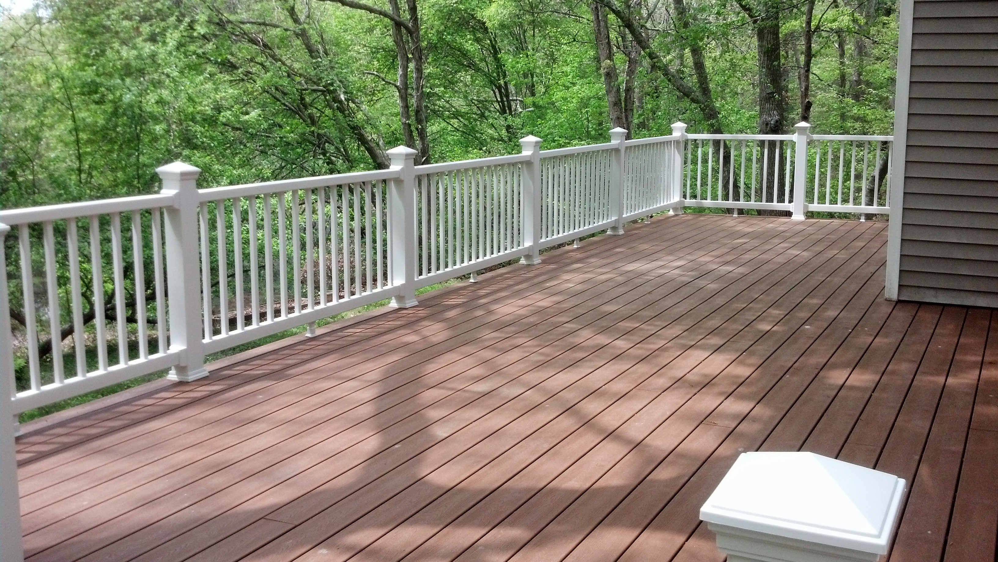 south county RI new deck install