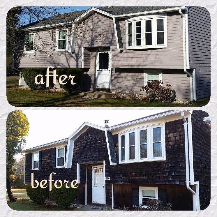 Vinyl Siding exterior renovation