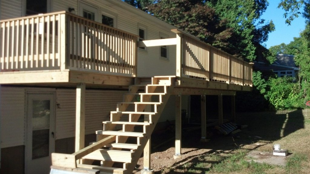new deck construction contractor westerly ri